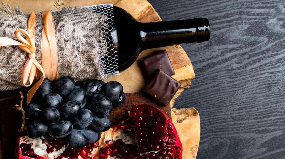 Wine, grapes and other resveratrol-rich foods