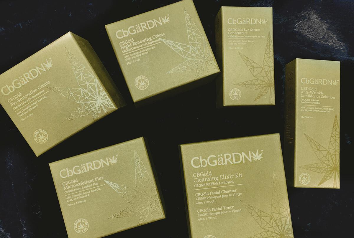 CbGaRDN products in boxes