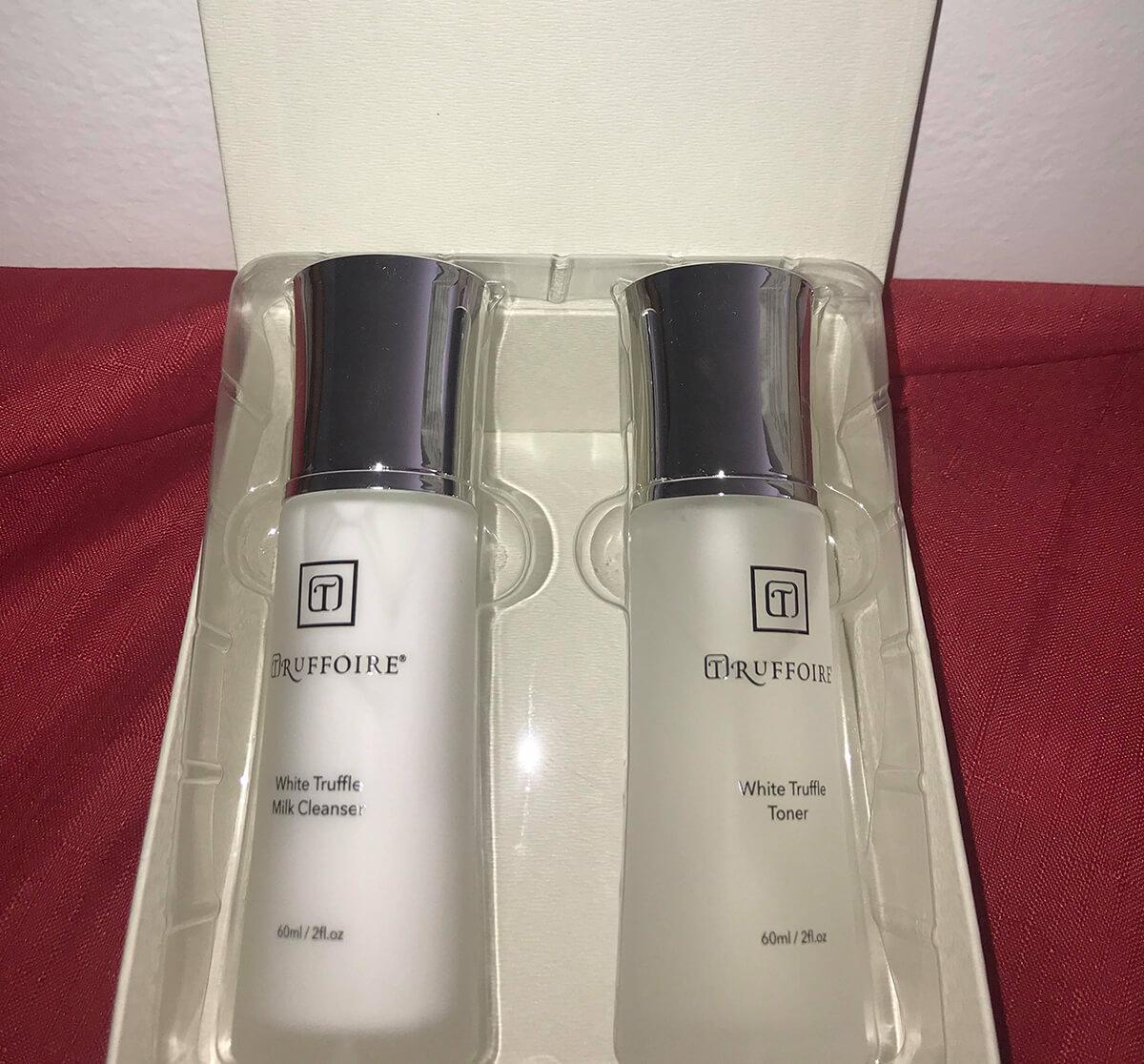 Truffoire cleanser and toner